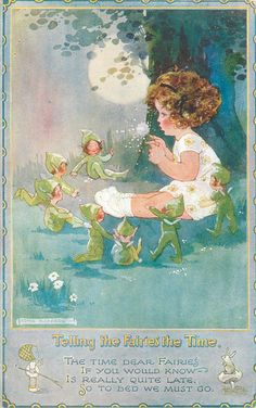 'TELLING THE FAIRIES THE TIME' by Agnes Richardson