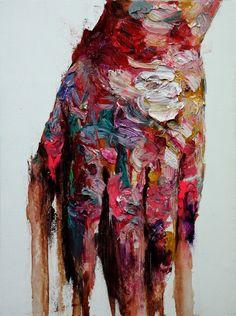 SHIN KWANGHO:   untitled oil on canvas  60 x 45 cm 2013.jpg