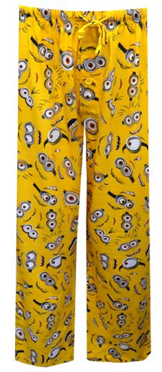 Despicable Me 2 Minion Lounge Pants Aren't the Minions adorable? There are tons of the little guys with funny expressions featu...