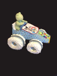 race diaper cake   Diaper Race Car   Little Frog Lane