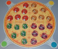 Pizza Party Board Game
