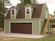 apartment over garage gambrel roof