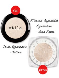Save with L'Oreal Infallible Eyeshadow in Ice Latte