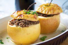 Aus dem schönen Kanton Genf stammt diese Köstlichkeit. Das Rezept für die Pommes Farcies wird mit feinem Hackfleisch zubereitet.