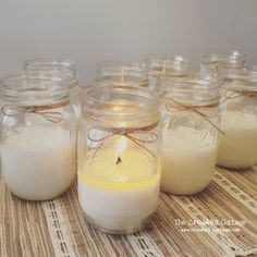 Hey, I found this really awesome Etsy listing at https://www.etsy.com/listing/240777154/set-of-12-mason-jar-soy-candles