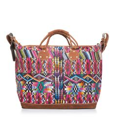 Another great find on #zulily! Zigzag Brights Weekender by Yuka Paris #zulilyfinds