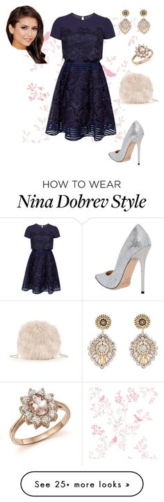 """Untitled #1094"" by lamiss-siyani on Polyvore featuring Ted Baker, Jimmy Choo, Sole Society, Miguel Ases and Bloomingdale's"