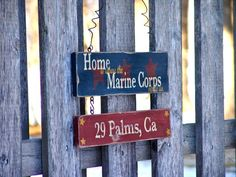 Home is where the Marine Corps sends us.