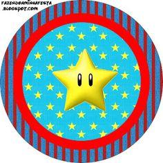 Imprimibles de Super Mario Bros.   Ideas y material gratis para fiestas y celebraciones Oh My Fiesta!