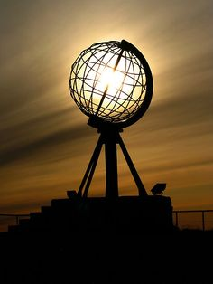 Nordkapp, Norway. The most northern part of Europe that you can drive to.