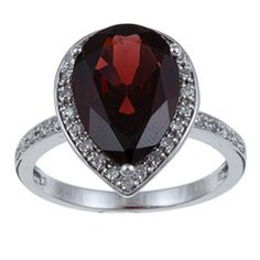 @Overstock - Diamond and garnet ring10-karat white gold jewelryClick here for ring sizing guidehttp://www.overstock.com/Jewelry-Watches/10k-White-Gold-Garnet-and-1-5ct-TDW-Diamond-Ring-G-H-I1-I2/5309355/product.html?CID=214117 $252.99