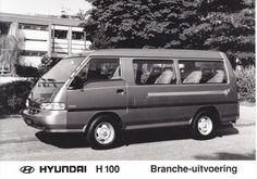 Hyundai H 100 Commercial Van (Dutch)