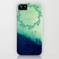 Let it Snow in the Mountains! iPhone & iPod Case by RDelean - $35.00