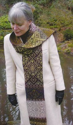 Andalucia Scarf pattern   Feral Knitter