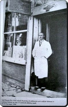 Eczacı Said Hatemi bey beylerbeyi-1920