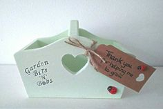 Teacher Gift Wooden Box with thank you for by handmadebydebmac