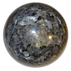 "Measurement: 3.1"" Weighs: 1lb 9.5oz Chakras: Root, Crown Larvikite is a protective and grounding stone. It is cleansing to the subtle bodies and facilitates a s"