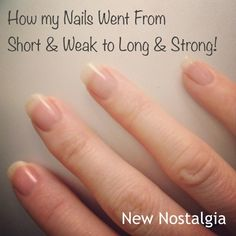 New Nostalgia: How My Nails Went From Short & Weak To Long & Strong Using Biotin. (from Trader Joes!!)