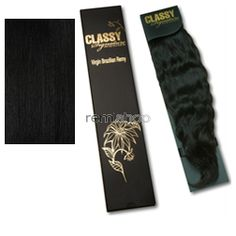 "Classy Signature Virgin Brazilian Wave 14-16"" - Color 1 - Remi Weaving"