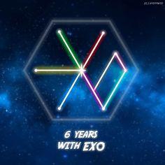 Happy 6 Years with EXO! 1/2 ©KaisooWYD on IG