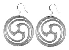 Jewelry | Earrings | Goddess Spiral