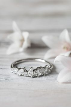 Grew and Co / Fine Jewellery / Engagement ring / Wedding Jewelry / White Diamonds / Wedding Style Inspiration / The LANE #weddingjewelry #finejewelry #weddinginspiration