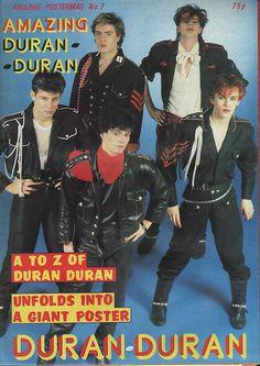 DURAN DURAN - AMAZING POSTER MAGAZINE 1982