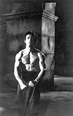 Bruce Lee Doing Warming up.
