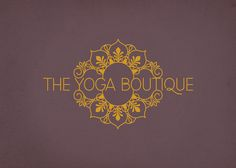 Brand identity for a yoga studio, called The Yoga Boutique