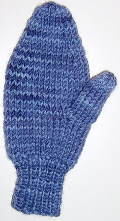 create your own mitten pattern template on knitty.com