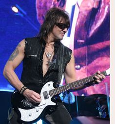 Richie Sambora, too bad he thinks he's too good for the band after 30 years.