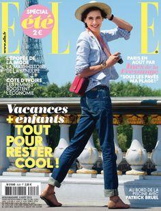Inès de la Fressange [n°3528]. fashion, style, cover, magazine, ELLE France