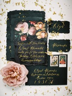 Black Wedding Invita