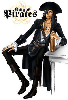 King of Pirates by idolwild.deviantart.com on @deviantART