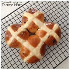 Hot Cross Buns - The Road to Loving My Thermo Mixer