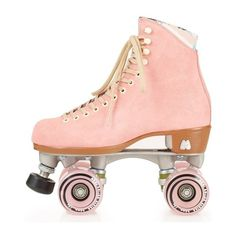 Moxi roller skates zoom in to Topshop ❤ liked on Polyvore featuring shoes, fillers, skates and accessories