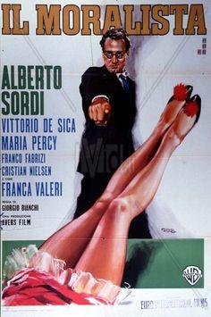 Il moralista, diretto da Giorgio Bianchi (regia di molte sequenze di Vittorio De Sica, non accreditato), 1959