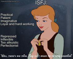 Disney MBTI: Cinderella, ISFJ by TheNewDorothyGale