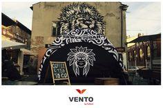 Namiot VENTO dla Frytek Belgijskich :) Skwer Judah, Kraków