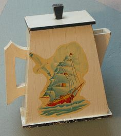 1930s Soap Powder Holder... Fabulous! by The T-Cozy, via Flickr