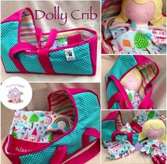 This beautiful set features the larger version of the HarveysToyShed dolly and gorgeous matching crib both lovingly handmade in fabrics of your choosing Dolls And Daydreams, Handmade Soft Toys, Dress Up Dolls, Crib Sets, Small Baby, Boy Doll, Custom Dolls, Fabric Dolls, Baby Toys
