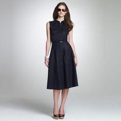 Jones New York: Dresses > Daytime Dresses > Linen Shirtdress