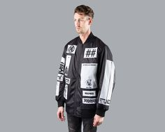 KTZ x BEEN TRILL Bomber Jacket (Black)