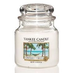 Amazon.com: Yankee Candle 14.5 oz. Christmas At The Beach: Home & Kitchen