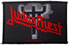 Official Judas Priest Sew-on patch measuring approx 100mm x 70mm featuring the Fork Logo design Officially Licensed Merchandise View more Patches