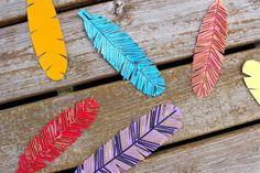 TUTORIAL: Spaghetti Box Turkey Feathers | MADE