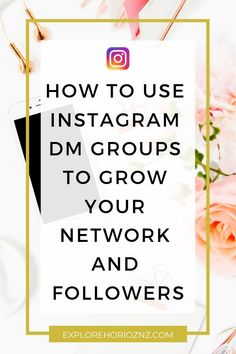 How to use Instagram DM groups to grow your network and followers. Today, we're going to be talking about DM groups in a different way than usual but of course, I have made a video about this before. That video was mainly about how to join them, and what their main purpose is, which is engagement groups, instead of DM groups. Social Media Services, Social Media Tips, Social Media Marketing, Marketing Strategies, Content Marketing, Small Business Marketing, Internet Marketing, Online Marketing, Digital Marketing