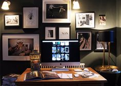 Jane Rockett's Home Office in Sussex #MyDesk #MyWorkSpace #PARKERPens