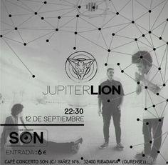 Jupiter Lion en Café-concerto Son, Ribadavia (Ourense)