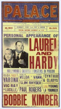 After finishing their movie commitments at the end of 1944, Laurel & Hardy concentrated on stage shows, embarking on a music hall tour of England, Ireland, and Scotland. In 1950, they made their last film, a French/Italian co-production called Atoll K, before retiring from the screen. In total, they appeared together in 107 films.
